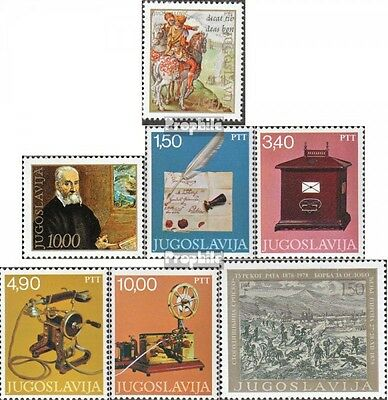 Yugoslavia 1714-15,1716-19,1720 (complete issue) unmounted mint / never hinged 1