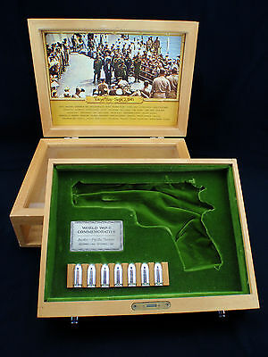 Colt WWII 1911 Asiatic-Pacific Theater Commemorative Presentation Display Case