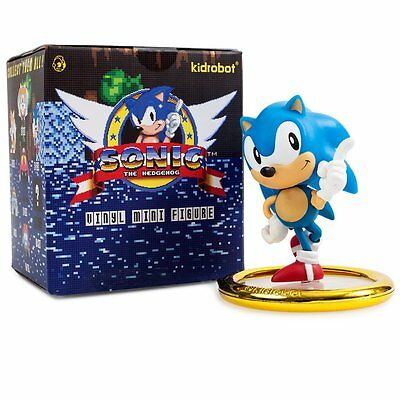 "Kidrobot SONIC THE HEDGEHOG 3"" BLIND BOX MINI SERIES - one aleatoria caja"