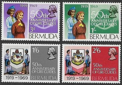 Bermuda 1969 Girl Guides MNH