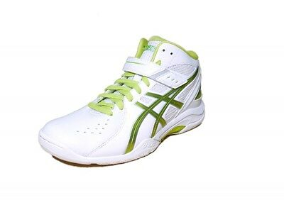 asics basketball shoes LADY GEL FAIRY6 TBF400 0189 White X lime US10