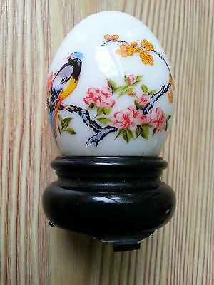 "An Interesting 'egg On Stand' Avon Bottle: 2.75"" Tall: Vg Condition"