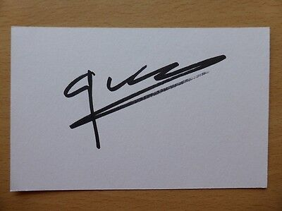 Hand Signed Football Index Cards *****G***** Page 3