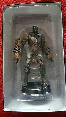 eaglemoss marvel movie collection iron man armour subscriber special new