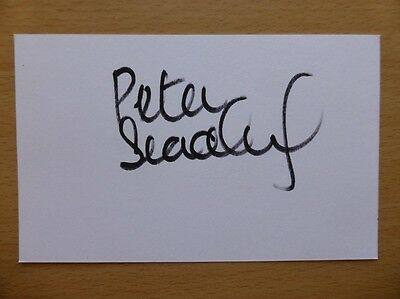 Hand Signed Football Index Cards *****B***** Page 2