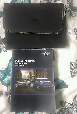 Mini Countryman/Paceman Owners Handbook/Manual and Wallet 10-15
