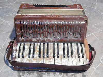 PROJECT historic FIROTTI accordion Akkordeon Germany ~1930s parts repair decors