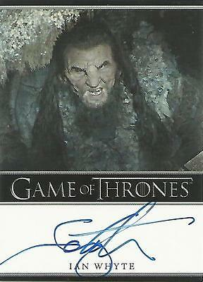 "Game of Thrones Season 5 - Ian Whyte ""Wun Wun"" Autograph Card"