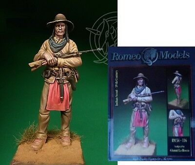 a Romeo Models 54mm - RM.54-116 - Scout Indiano (XIX secolo)