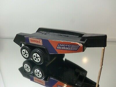 1983 Buddy L Motorcycle Trailer - Nice Loose 1/64 Scale