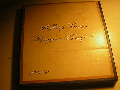 Rolling Stones Reel To Reel Beggers Banquet Mick Jagger Keith Richards