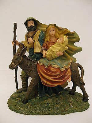 "Home Interiors "" The Holy Family "" figurine"