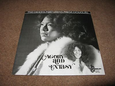 The Diddys Featuring Paige Douglas Agony and Extasy vinyl LP