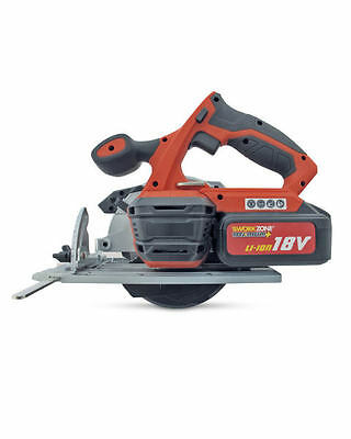 Workzone Titanium+ 18V Li-Ion Cordless Circular Saw & Laser + Charger & Battery