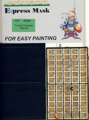 eduard Spray stencils Tactical Characters 1:35 Armed forces Symbols 1942-45