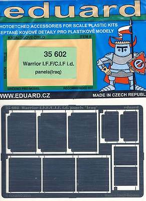 eduard Warrior iF.F C.iF. panels Iraw model kit Etched parts 1:35 Photoetch