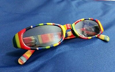 Kid Sized Small Multi Colored Rainbow Eyeglass Sunglass Frames