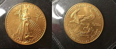 1996  Usa American Proof $25 Eagle In A Hard Case--A Raw Blazer Low Mintage