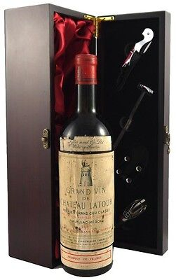1957 Chateau Latour 1957 Vintage Red Wine