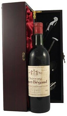 1962 Chateau Capet Begaud 1962 Vintage Red Wine