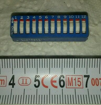 AMP 435668 Modélisme RC 12 POSITIONS 24 BROCHES MADE IN FRANCE