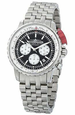 Thunderbirds Fighting Steel Pro 1052-1 Chronograph  Watch  Herrenuhr Fliegeruhr