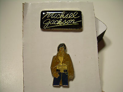 Michael Jackson - Vintage Pins from the 80's