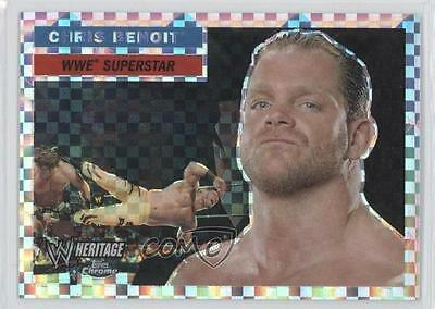 2006 Topps Chrome WWE Heritage X-Fractor #34 Chris Benoit Wrestling Card 8u9