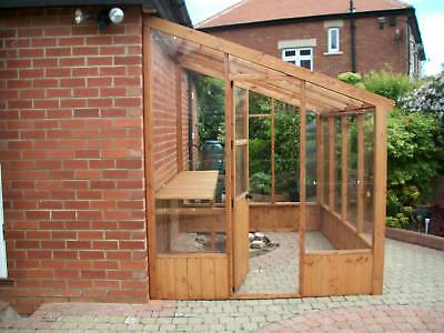 8 x 6  Lean to greenhouse/ green house Wood