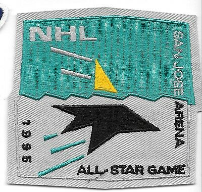 1995 San Jose Arena All-Star Game NHL Shoulder Patch Sharks