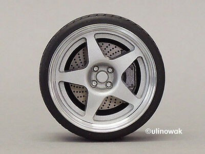 99543-18 Alufelgen 1:18 Compomotive 5 Spoke-Design 18 Zoll  5/5 mm pn