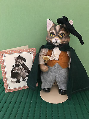 Rare, Retired Colonial Cat, Abel from Maryland, Franklin Mint Collectible