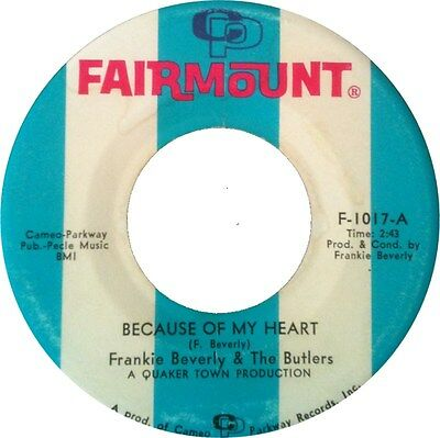 BECAUSE OF MY HEART Frankie Beverly & The Butlers *NORTHERN SOUL*