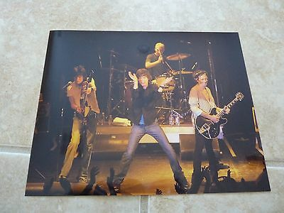Rolling Stones Band Keith Mick Ronnnie Charlie Promo Live 8x10 Concert Photo