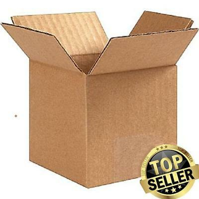 shipping boxes 25 Pack 6x6x6 Mailing Moving Box Cardboard Storage Carton Packing