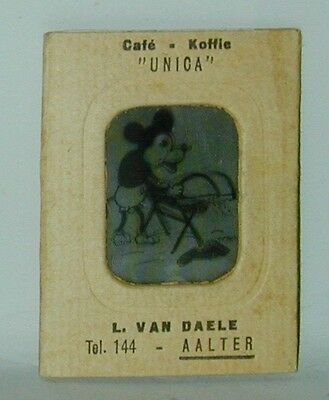 Mickey Mouse Vari Vue Flicker Picture #6 Coffee Brand Premium 1930s Germany