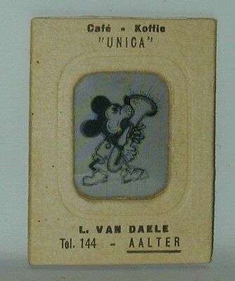 Mickey Mouse Vari Vue Flicker Picture #7 Coffee Brand Premium 1930s Germany