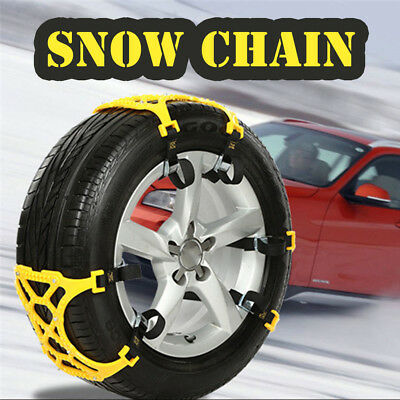 New 1PC Winter Truck Car Snow Chain Tire Anti-skid Belt Easy Installation