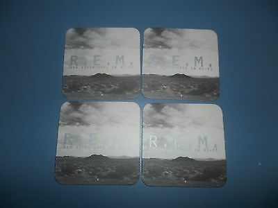 REM New Adventures In Hi-Fi Set Of Four US Promo Only Drink Coasters