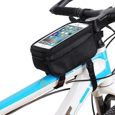 Cycle Bike Bicycle Frame Pouch Bag Case Mobile Phone Holder For Iphone