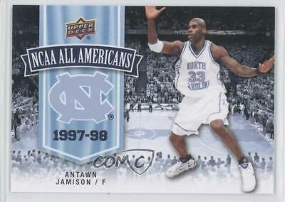 228ca838419 2010-11 UD North Carolina Basketball  118 Antawn Jamison (UNC) Tar Heels