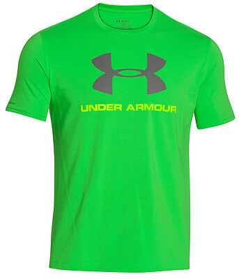 Under Armour Mens Charged Cotton Sportstyle T-Shirt - Large UA Logo