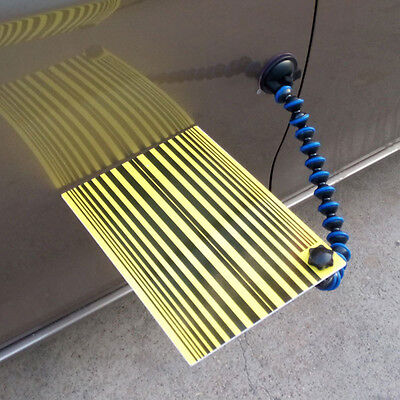 Car Body Line Board PDR Paintless Dent Repair Tool Scratch Reflector Board Light