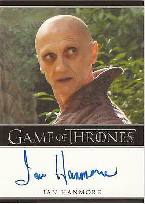 "Game of Thrones Season 3 - Ian Hanmore ""Pyat Pree"" Autograph Card"