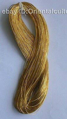 Up 1000 Color/65M Chinese Hand Embroidery Gold Thread:)