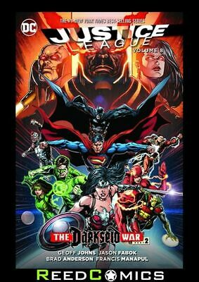 JUSTICE LEAGUE VOLUME 8 DARKSEID WAR PART 2 GRAPHIC NOVEL New Paperback