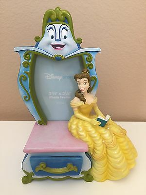 Beauty and Beast Belle Wardrobe Picture Photo Frame Resin Disney Store