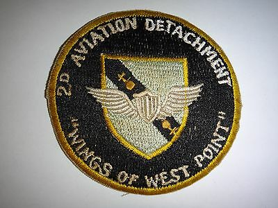 """US Army Patch 2nd AVIATION DETACHMENT """"Wings Of West Point"""""""