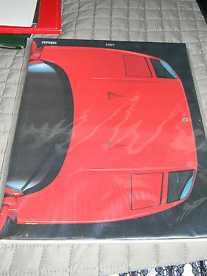 Ferrari Yearbook 1989 Italian Edition RARE!!!! F40!! Impossible to find! MINT