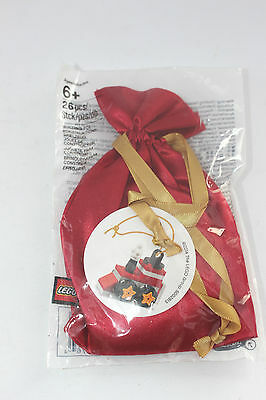 Lego Christmas tree ornament Train in red sack 5002813 Collectible Gift  B33